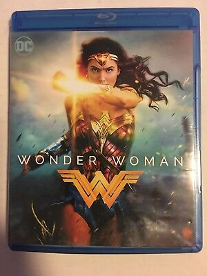 Wonder Woman (Blu-ray Disc, 2017) Like New, Open Still Have Digital Download