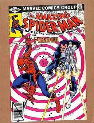 Amazing Spider-Man # 201 - NEAR MINT 9.4 NM - Punisher! Avengers MARVEL Comics