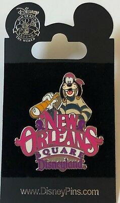 Disney DLR Land Series New Orleans Square Goofy Pin