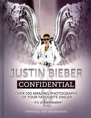 Justin Bieber Confidential, Hardcover by Carlton Books Limited (COR), Brand N...