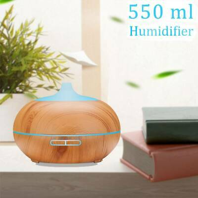 500ml RGB Aroma Essential Oil Diffuser Ultrasonic Air Humidifier Remote Control
