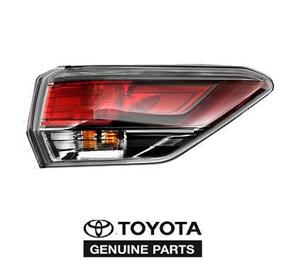 Genuine Toyota Highlander 2014-2015 Right Outer Tail Light Taillight New