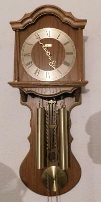 hermle oak weight driven wall clock