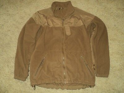 Us Navy Issue Nwu Aor1 Aor2 Goretex Parka Coyote Brown Fleece Liner Small Reg N