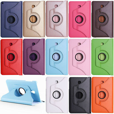 PU Leather Rotating Stand Smart Case For Samsung Galaxy Tab A 7.0 8.0 9.7 10.1