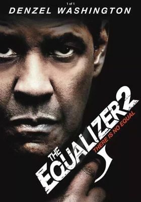 """The Equalizer 2"" (DVD 2018) Sealed New ! Free Shipping !"