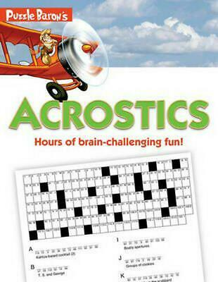 Puzzle Baron's Acrostics: Hours of Brain-Challenging Fun! by Stephen P. Ryder (E