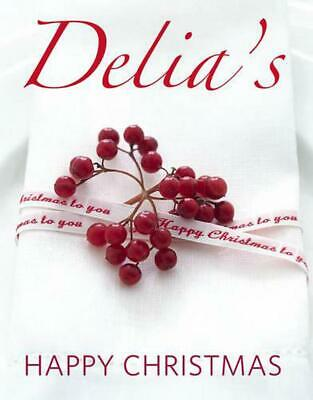 Delia's Happy Christmas by Delia Smith (English) Hardcover Book Free Shipping!
