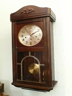 Nice Westminster Chime Wall Clock - Working order (Bristol)