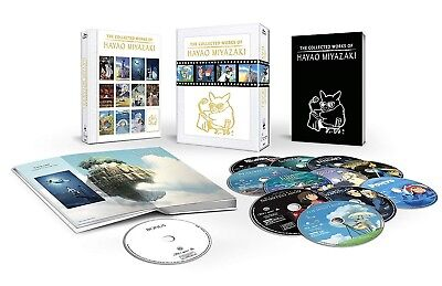 The Collected Works of Hayao Miyazaki Blu-ray Box Set Complete New Sealed Fast