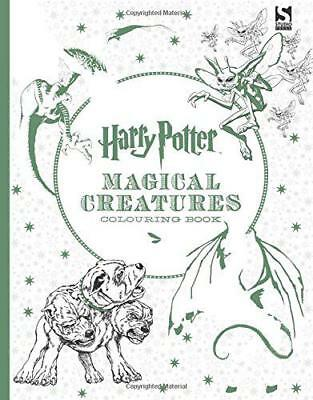 Harry Potter Magical Creatures Colouring Book by Brothers, Warner, NEW Book, (Pa
