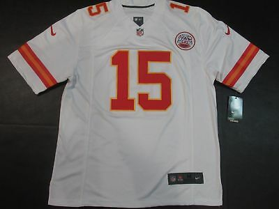 Patrick Mahomes #15 Kansas City Chiefs Mens Limited Jersey White