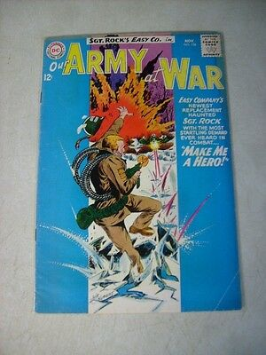 Our Army At War #136 Sgt Rock, Easy Co. , Kubert, 1964, Make Me A Hero