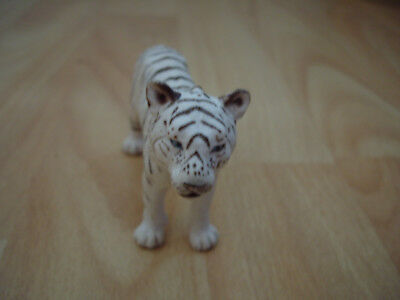 Schleich Germany White Tiger, Siberian Tiger Collectable Toy Figurine Rare -084