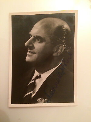 Original Small Hand Signed Autograph - Kenneth Horne - Comedian - Radio
