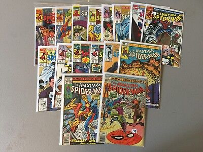 Amazing Spider-Man Comic Book Lot 1--16 miscellaneous issues