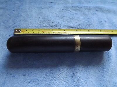 Vintage Chisel Gouge Ebony Case Unusual