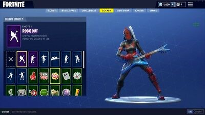 Fortnite Account With Rare Ghoul Trooper An Renegade Raider 75 00