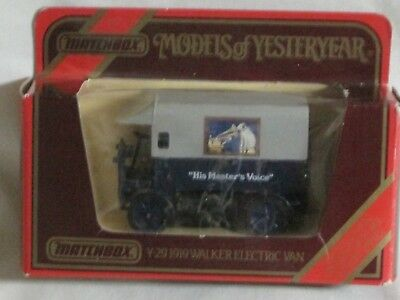 Rca Nipper Master's Voice Phonograph Match Box Toy Limited Edition 1919 Walker