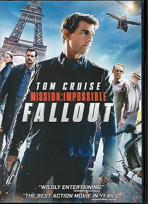 Mission: Impossible - Fallout DVD 2018 free fast shipping