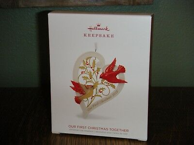 2018 Hallmark Ornament ~ OUR FIRST CHRISTMAS TOGETHER ~