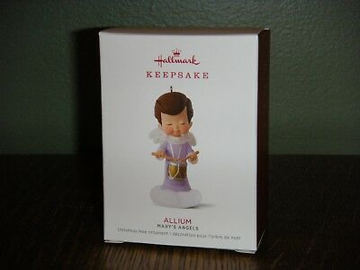 2018 Hallmark Ornament   ~ ALLUM ~  31ST IN THE MARY'S ANGELS SERIES