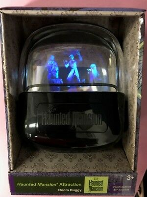 Disney Parks Haunted Mansion Hitchhiking Ghosts Doom Buggy Figure Lights & Sound