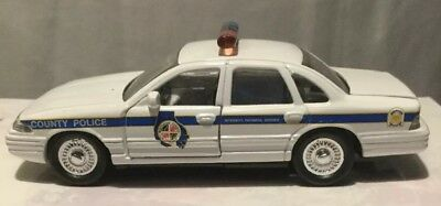 Police Car Baltimore County Maryland Collectible Crown Vic 1997. Road Champs