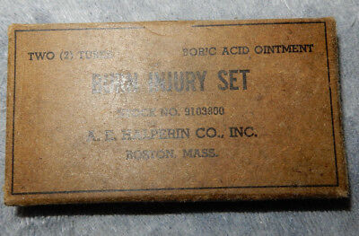 Original Wwii Us Army Burn Injury Set