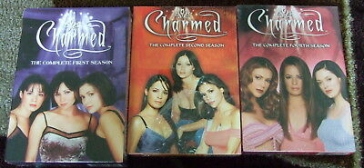 NEW! Charmed The Complete First, Second, FOURTH Seasons 1, 2, 4TH TV Series MISB