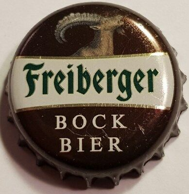 1x Freiberger Bock 2018 rare Beer Crown Bottle Cap Germany Tappi Chapa Bier
