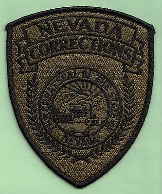 J27 * Subdue Nevada Corrections Officer State Police Swat Patch Jail Prison