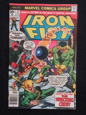 Iron Fist #11 MARVEL 1976 - NEAR MINT 9.6 NM - Stan Lee!
