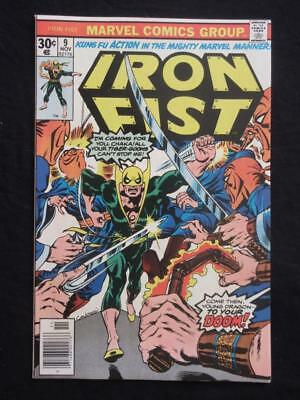 Iron Fist #9 MARVEL 1976 - NEAR MINT 9.8 NM - Stan Lee!