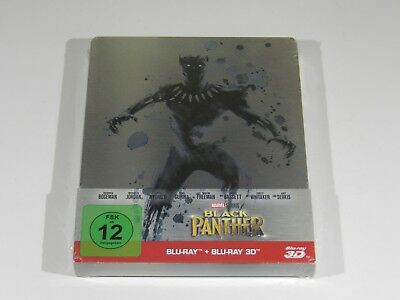 Black Panther 3D+2D Blu-ray Steelbook Edition [Germany] RARE RGN FREE ENG AUDIO
