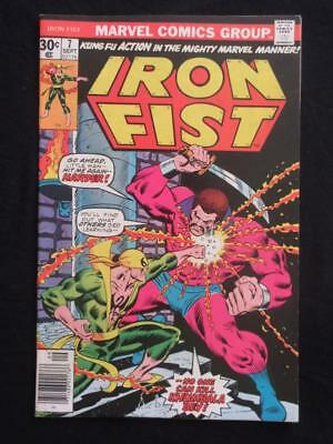 Iron Fist #7 MARVEL 1976 - NEAR MINT 9.8 NM - Stan Lee!