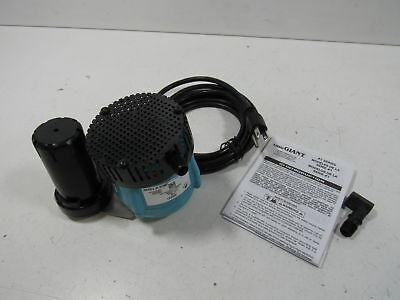 Little Giant 550521 1-ABS Discharge Shallow Pan Removal Pump, 115 Volt 205 GPH