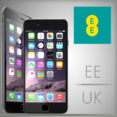 EE UK iPhone 8, 8+ Plus  Unlocking Service (Fast & Express Codes Service)