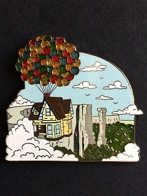 CARL'S HOUSE LE 125 DisneyStore Up Pixar Disney Pin DS Ellie Fredricksen Balloon