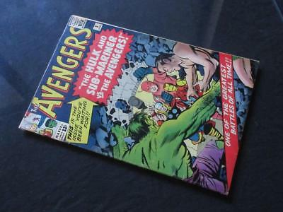Avengers #3 MARVEL 1964 - 2nd Sub-Mariner x-over, Spider-Man cameo!