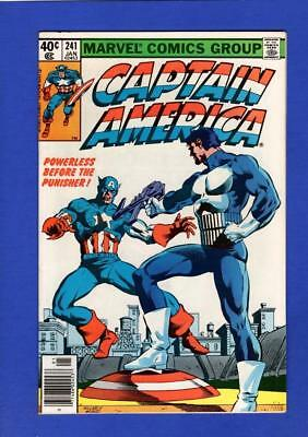 Captain America #241 Nm- 9.2 High Grade Bronze Age Marvel