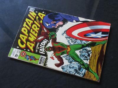 Captain America #117 MARVEL 1969 - 1st app The Falcon!