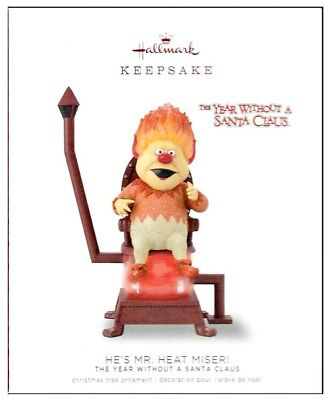 2018 Hallmark The Year Without a Santa Claus He's Mr Heat Miser Ornament!