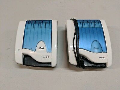 Lot Of (2) Panini Ideal I:deal Check Reader Scanners