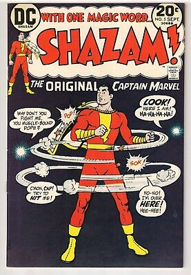Shazam #5 (1973) DC Comics - Captain Marvel - Billy Batson VF/NM