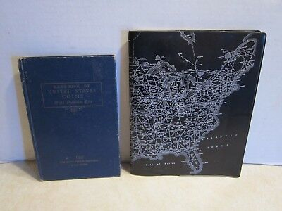 2 Books 1966 United States Coin Book & 1967 Diversified Map Corporation G204