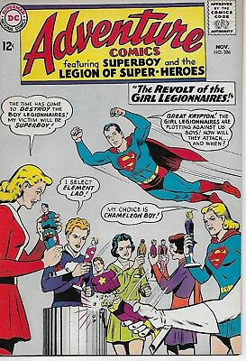 ADVENTURE COMICS  #326 from DC Comics  Very Fine 8.0