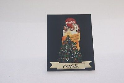 coca-cola 10 card santa card lot