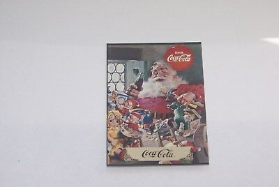 coca-cola 3 card santa card lot