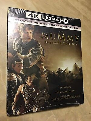The Mummy Ultimate Trilogy [ Blu-Ray, Digital HD From 4K Combo ] No 4K Discs